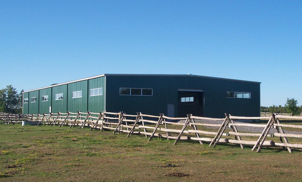 Prefabricated steel building dealers warehouse ontario for Barn builders ontario