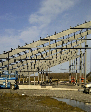 kemp_solar_farm_steel_frame_Ottawa_Ontario_kodiak_steel_buildings