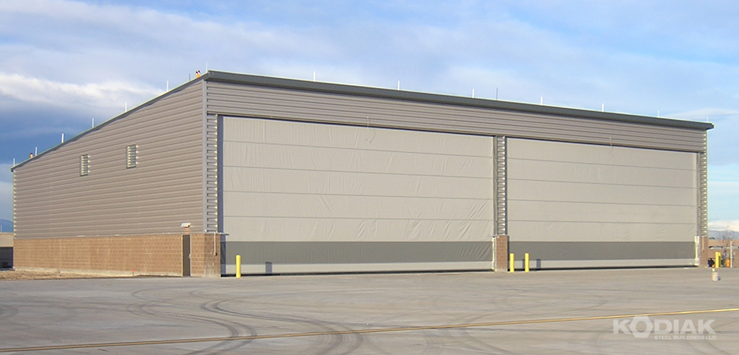 Buckleys-AFB-Airplane-Hangar-custom-steel-hangars-Kodiak-Steel-Buildings