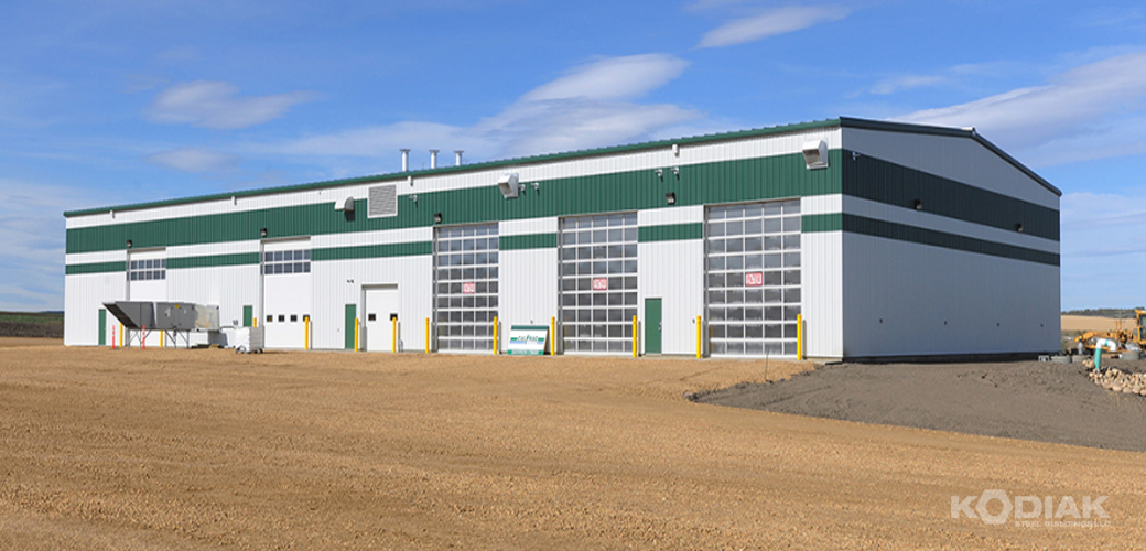 Camdon-Calfrac-Commercial-Warehouse-Kodiak-Steel-Builidngs