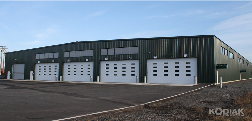 Frederiction-Transit-Building-prefab-steel-Kodiak-Steel-Buildings