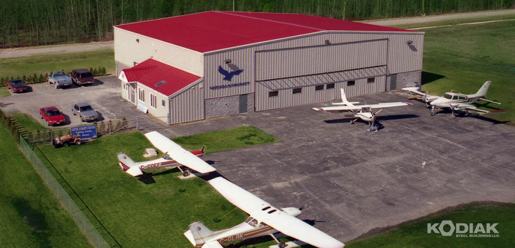 Georgian-Aircraft-Hangar-Kodiak-Steel-Buildings