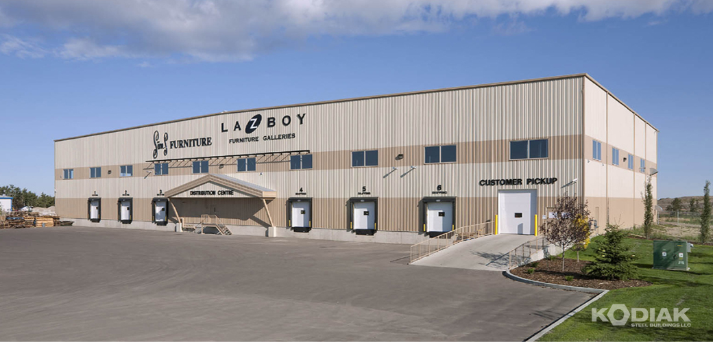 LAZ-BOY-furniture-distribution-centre-building-Kodiak-Steel-Buildings