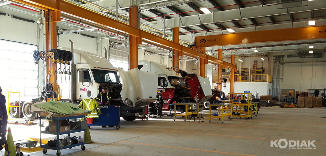 New-West-Truck-Centre-Prefab-transit-buildings-Kodiak-Steel-Buildings