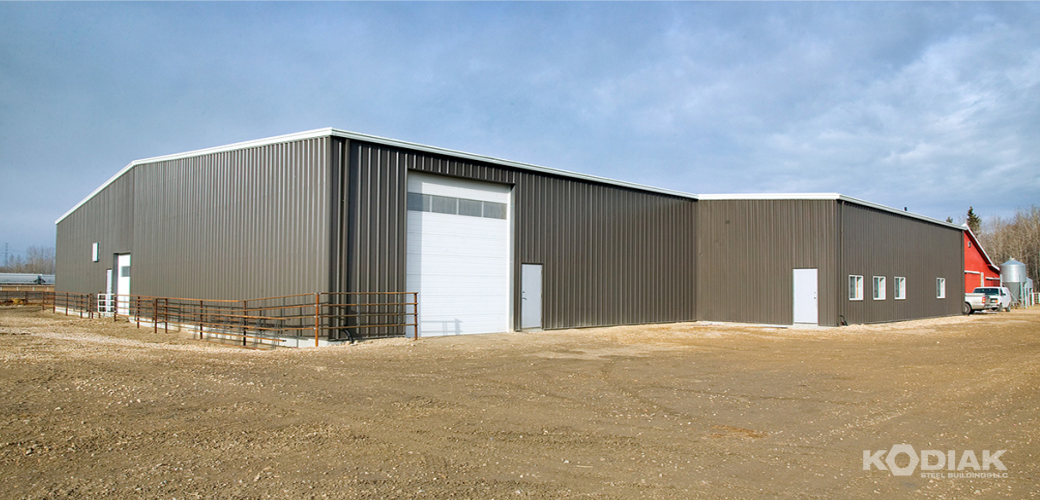 Pekisko-Custom-steel-riding-arena-Kodiak-Steel-Buildings