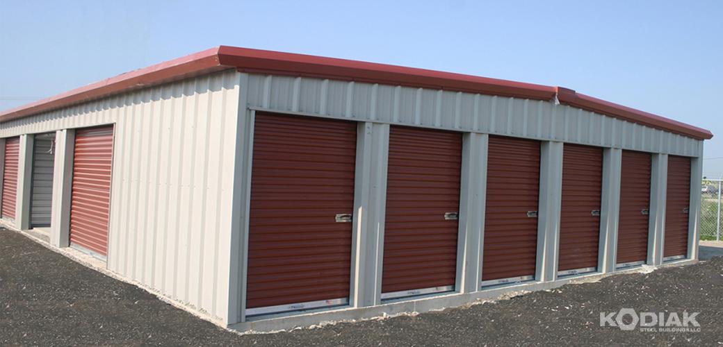 Smithville Mini Storage Prefab Steel Storage Sheds Kodiak