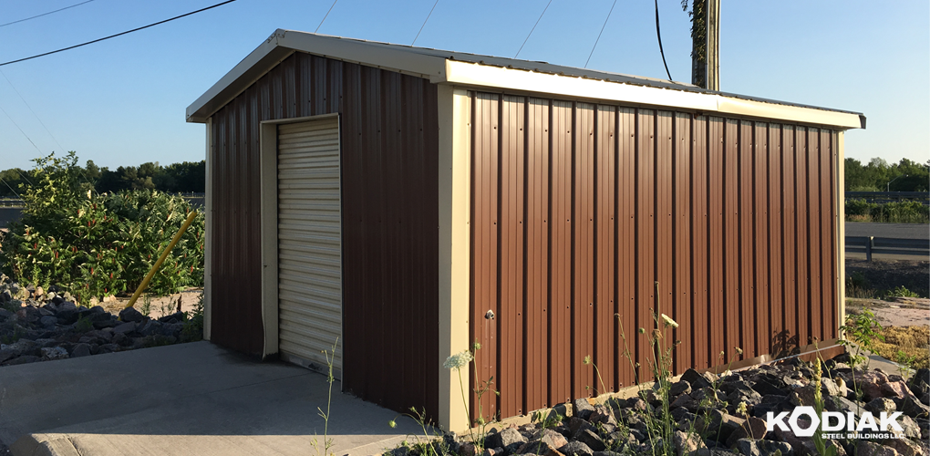 new_kodiak_prefab_storage_shed_kodiak_steel_buildings