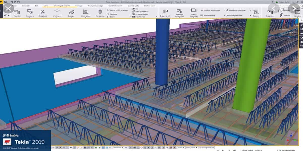 3D Dynamic Building Drawings BIM