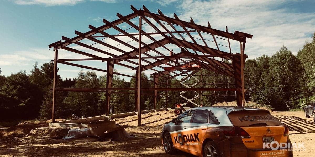 42 x 102 assembled steel frame