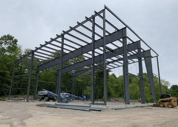 recreation buildings climb gym steel frame