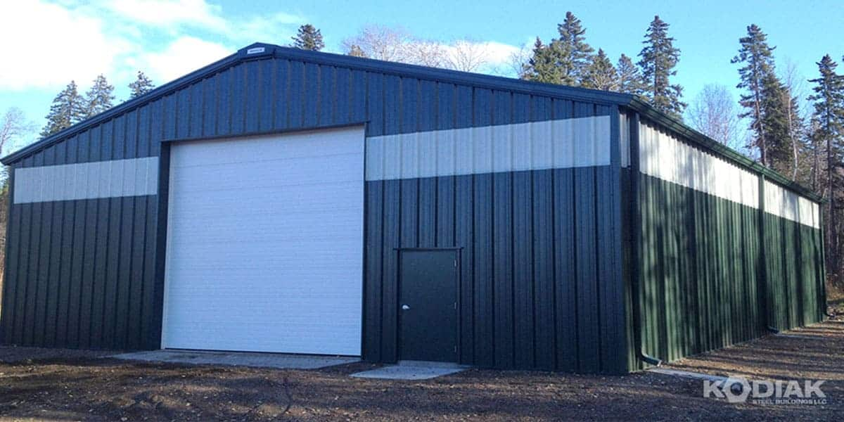Kodiak Storage Shed Building