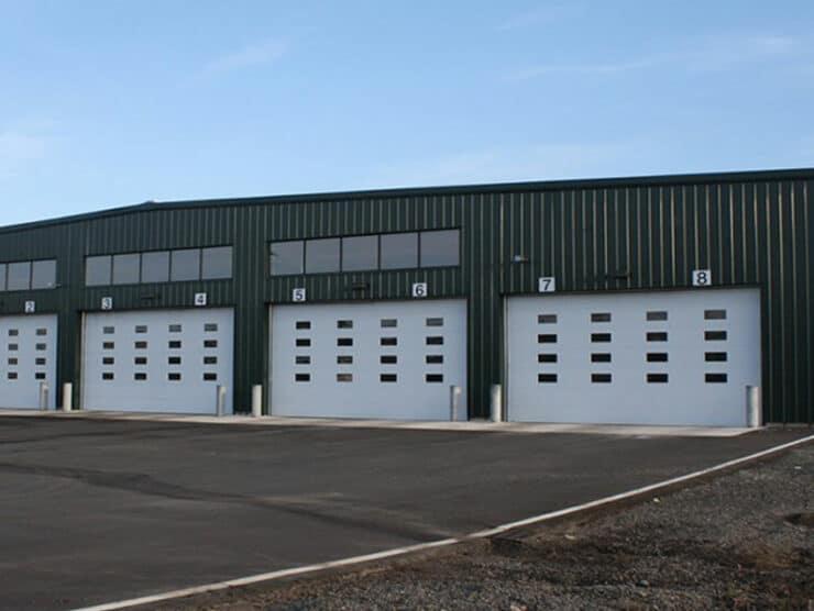 kodiak truck barns transit building