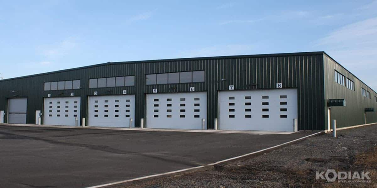 kodiak truck barns transit building