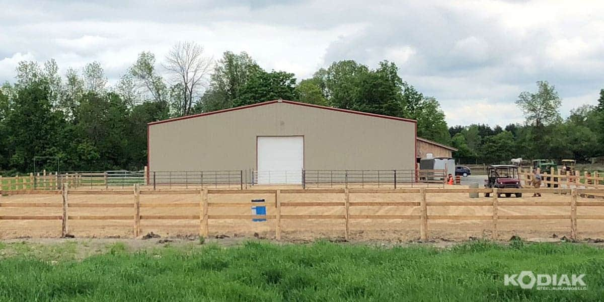 Sherwood Farms Custom Indoor Riding Arena