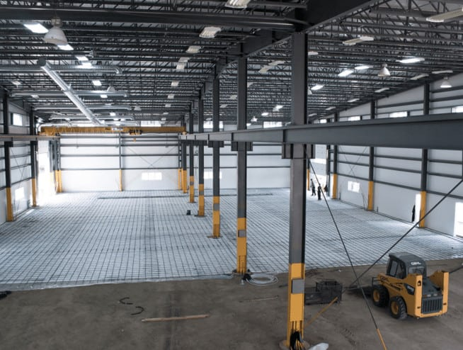 Long Bay Steel Frame System