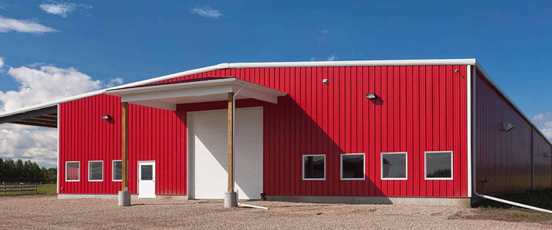 Kodiak Steel Farm Buildings