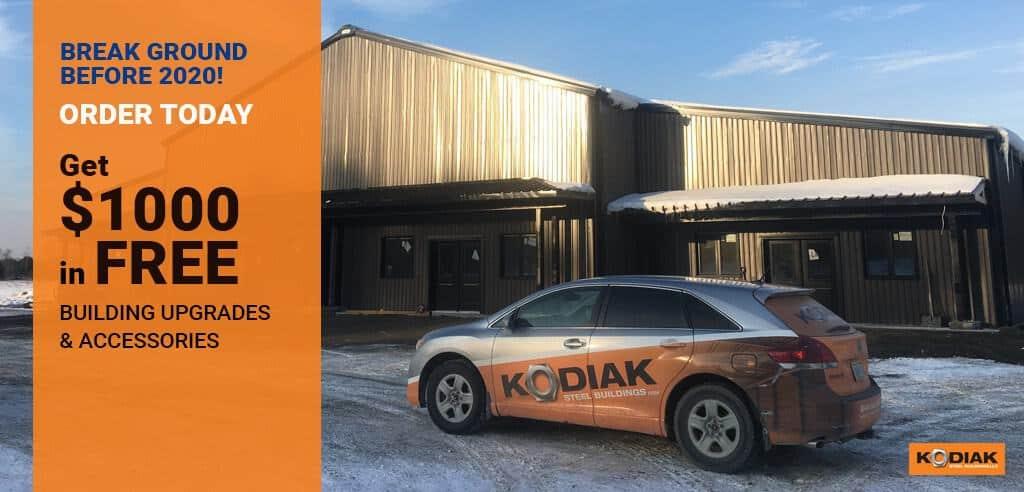 Kodiak Building Sale Graphic