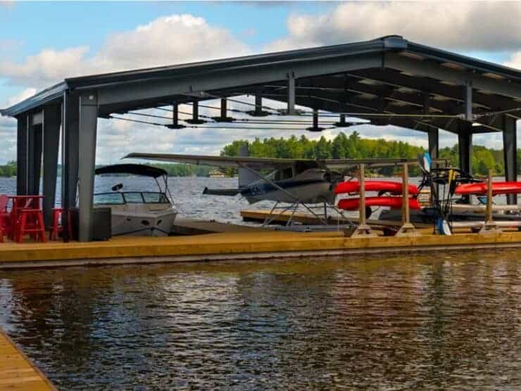 custom prefab airplane hangar