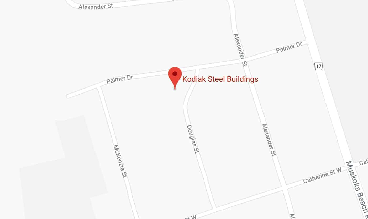 Kodiak Steel Buildings Gravenhurst Ontario