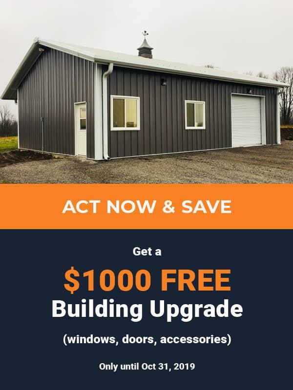 Kodiak Free Building Upgrade Sale