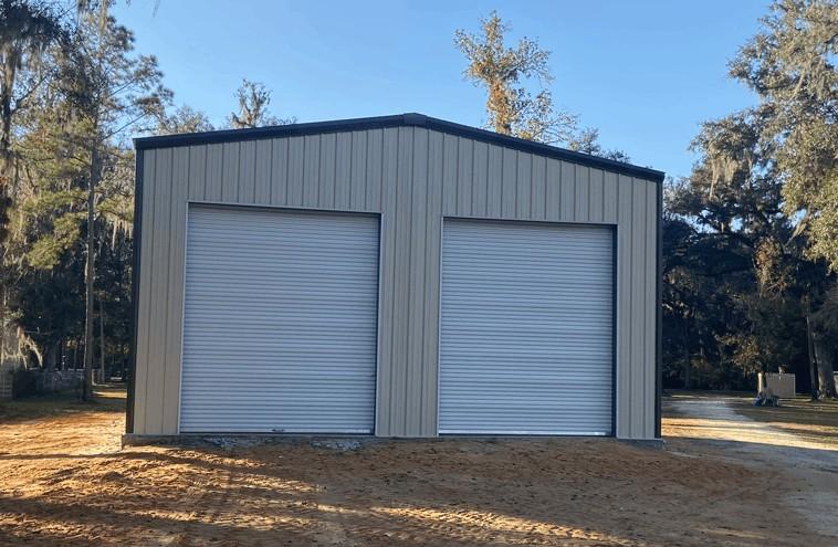 36x50 prefab Garage in Florida