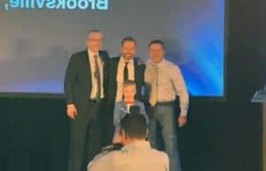 Robertsons Outstanding Builder Award winners