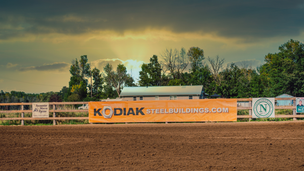 kodiak steel buildings banner