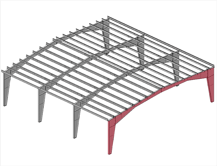 Clear Span Steel Building System