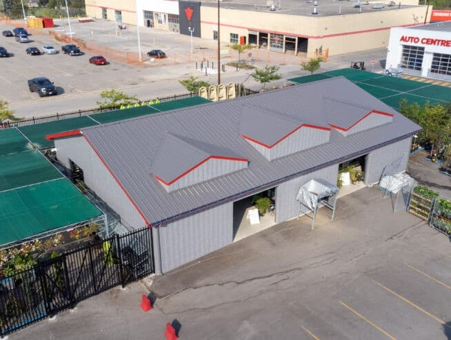 50x80 Canadian Tire Commercial Building