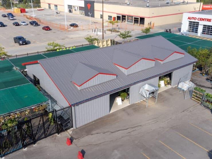 custom commercial building