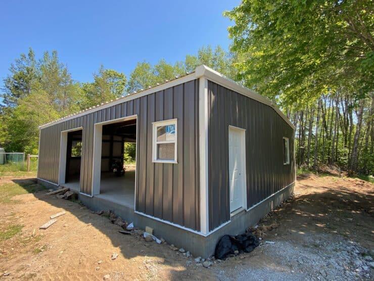 30x40 prefab garage office health services